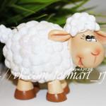 Силиконовая форма «Веселая овечка»