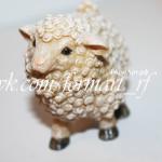 Силиконовая форма «Кудрявая овечка №2»