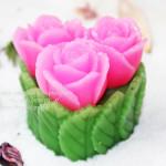Силиконовая форма «Букет три розы»