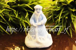 Вес готового изделия (мыла, свечи) ~100 грамм. Высота 9см Материал: мягкий, эластичный силикон