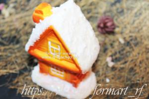 Вес готового изделия (мыла, свечи) ~160 грамм. Высота 10см Материал: мягкий, эластичный силикон
