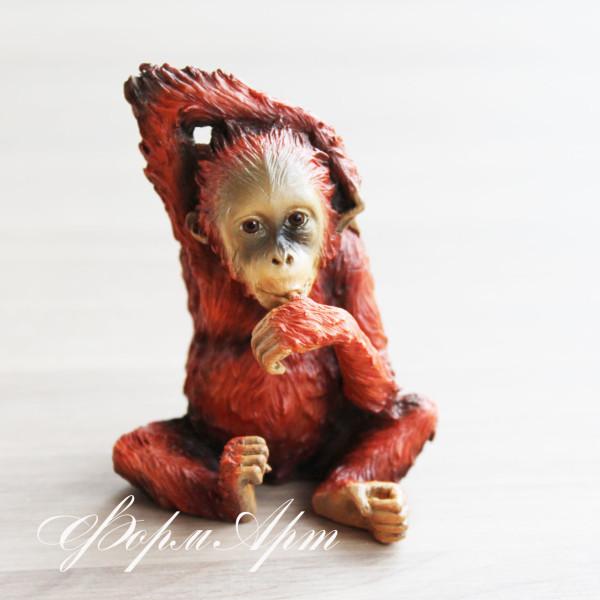 """Силиконовая форма """"Детеныш орангутана"""""""
