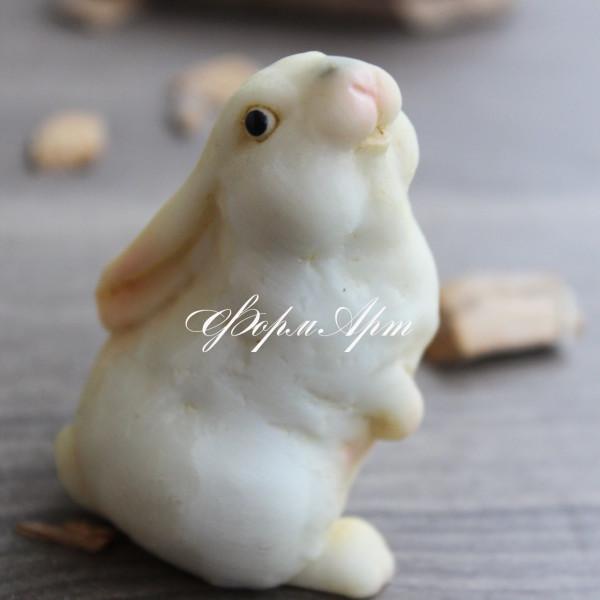 """Силиконовая форма """"Кролик малыш №2"""""""