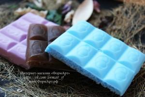 Вес готового изделия (мыла, свечи) ~40 грамм.  Материал: мягкий, эластичный силикон
