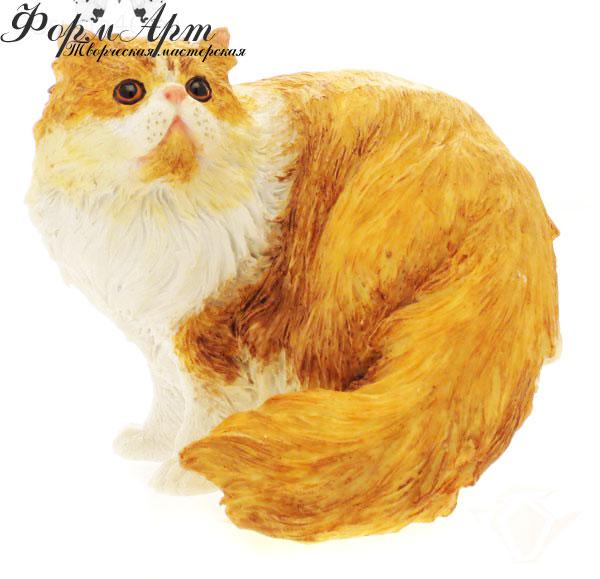 """Силиконовая форма """"Персидский кот"""" Вес мыла примерно 70-80 грамм"""