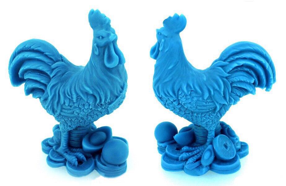 """Силиконовая форма """"Синий петух"""" Вес примерно 65 грамм, высота 7,5 см Цена формы 500 руб (силикон Китай), 600 руб (силикон США оранжевого или розового цвета)"""