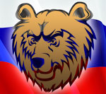 """Силиконовая форма """"Медведь на флаге"""" Размеры 7,5 х 7,5 х 2 Вес мыла примерно 70 грамм АВТОРСКАЯ ФОРМА ТМ ФормАрт. Копирование/тиражирование формы запрещено."""