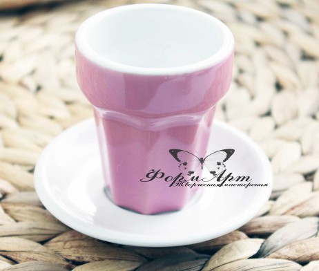 """Силиконовая форма """"Керамический стакан для коктейлей/кофе"""""""