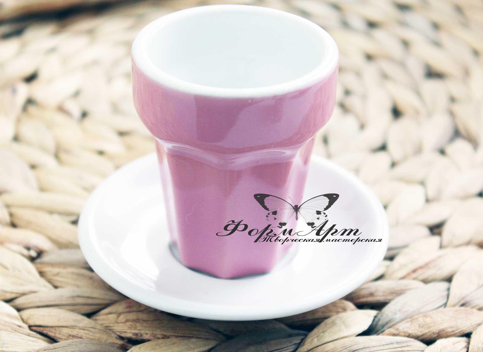 """Силиконовая форма """"Керамический стакан для коктейлей/кофе"""" Высота 6 см, диаметр 3,5 см. Вес незаполненного примерно 25 грамм."""