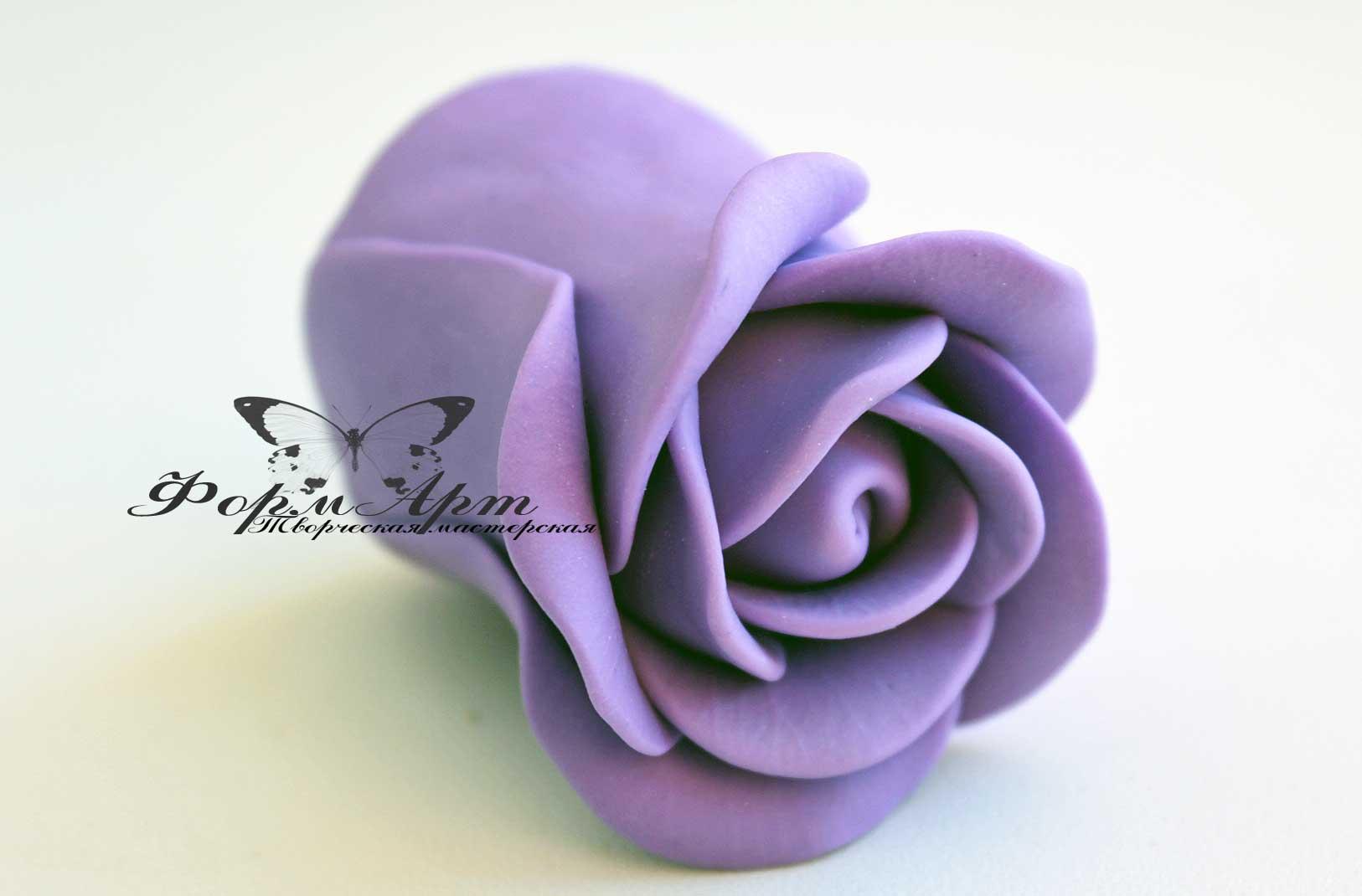 """Силиконовая форма """"Бутон розы №2"""" Высота 6 см , диаметр 4,5 см Вес мыла примерно 70 грамм   АВТОРСКАЯ ФОРМА ТМ ФОРМАРТ"""