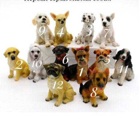 """Силиконовая форма """"Первая серия малых собак"""""""