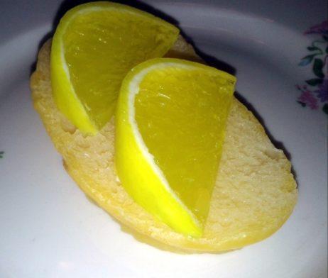 """Силиконовая форма """"Долька лимона"""""""